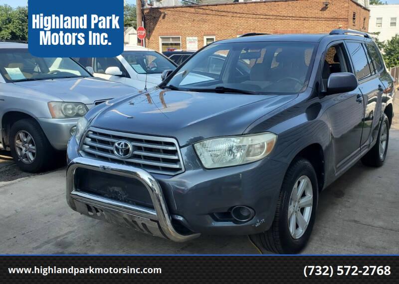 2008 Toyota Highlander for sale at Highland Park Motors Inc. in Highland Park NJ