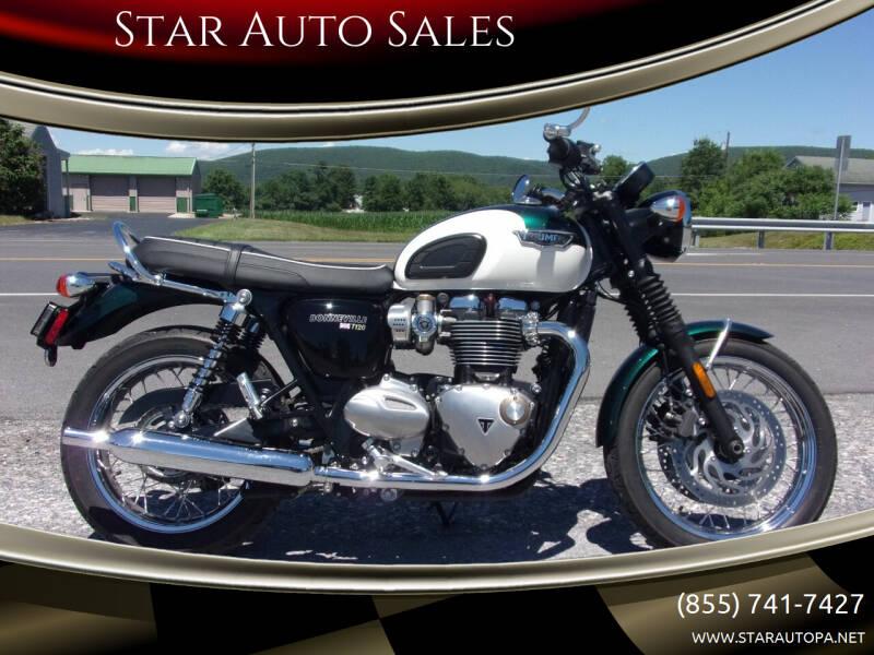 2018 Triumph Bonneville for sale at Star Auto Sales in Fayetteville PA