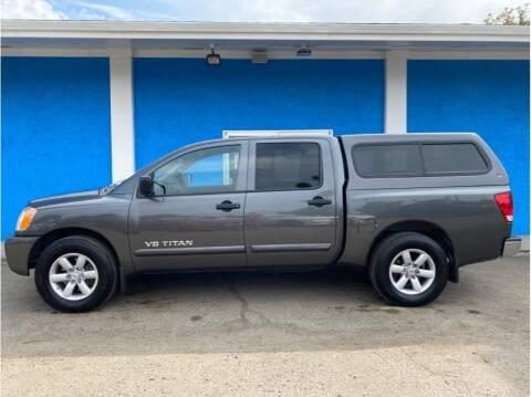 2011 Nissan Titan for sale at Khodas Cars in Gilroy CA