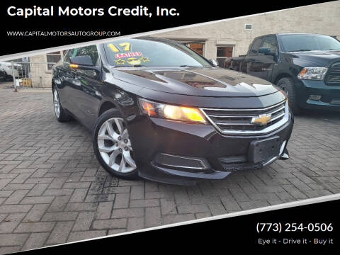 2017 Chevrolet Impala for sale at Capital Motors Credit, Inc. in Chicago IL