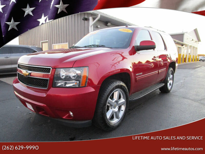 2014 Chevrolet Tahoe for sale at Lifetime Auto Sales and Service in West Bend WI