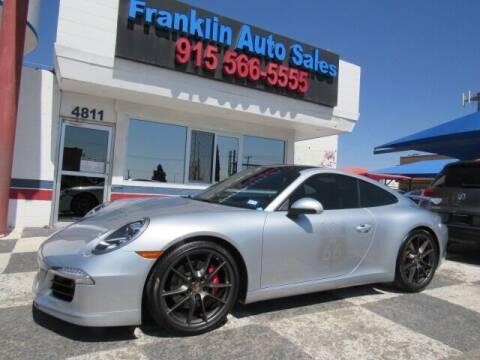 2014 Porsche 911 for sale at Franklin Auto Sales in El Paso TX