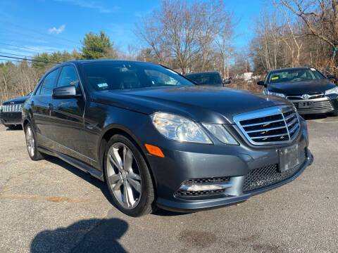 2012 Mercedes-Benz E-Class for sale at Royal Crest Motors in Haverhill MA
