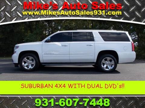 2016 Chevrolet Suburban for sale at Mike's Auto Sales in Shelbyville TN