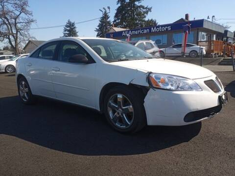 2007 Pontiac G6 for sale at All American Motors in Tacoma WA