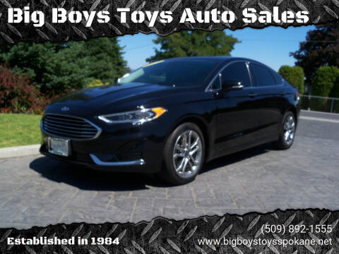 2019 Ford Fusion for sale at Big Boys Toys Auto Sales in Spokane Valley WA