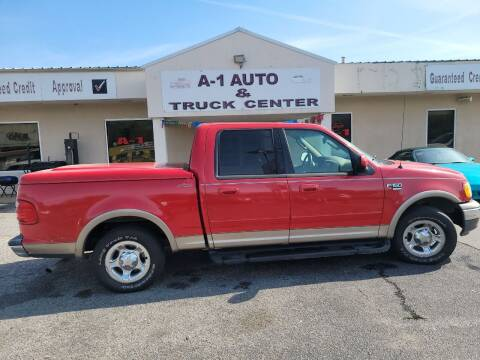 2002 Ford F-150 for sale at A-1 AUTO AND TRUCK CENTER in Memphis TN