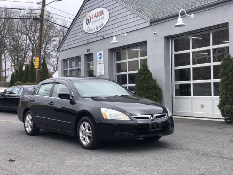 2007 Honda Accord for sale at LARIN AUTO in Norwood MA
