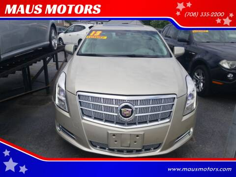 2013 Cadillac XTS for sale at MAUS MOTORS in Hazel Crest IL