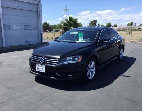 2013 Volkswagen Passat for sale at My Three Sons Auto Sales in Sacramento CA