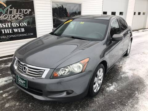 2009 Honda Accord for sale at HILLTOP MOTORS INC in Caribou ME