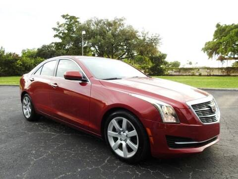 2016 Cadillac ATS for sale at SUPER DEAL MOTORS 441 in Hollywood FL