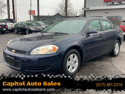 2008 Chevrolet Impala for sale at Capitol Auto Sales in Lansing MI