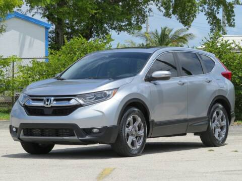 2017 Honda CR-V for sale at DK Auto Sales in Hollywood FL