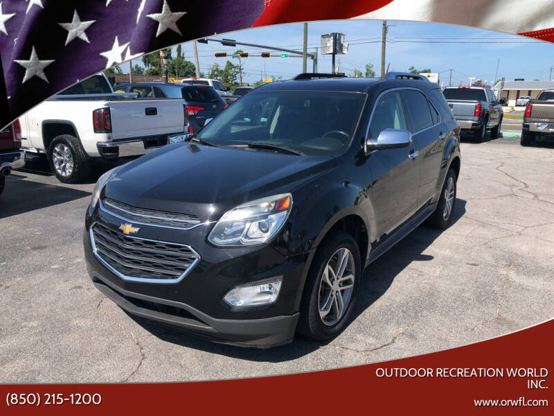 2016 Chevrolet Equinox for sale at Outdoor Recreation World Inc. in Panama City FL