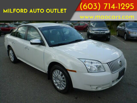 2009 Mercury Sable for sale at Milford Auto Outlet in Milford NH