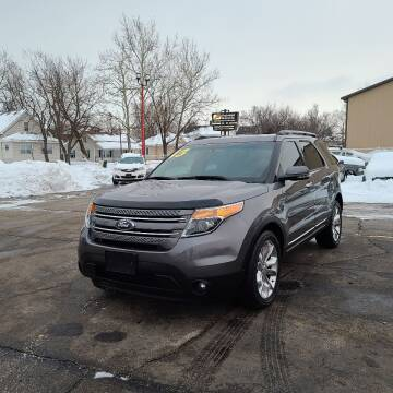 2013 Ford Explorer for sale at Bibian Brothers Auto Sales & Service in Joliet IL