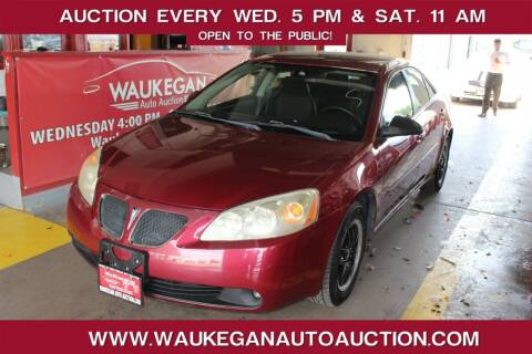 2005 Pontiac G6 for sale at Waukegan Auto Auction in Waukegan IL