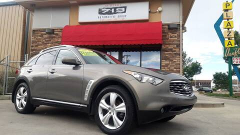2011 Infiniti FX35 for sale at 719 Automotive Group in Colorado Springs CO