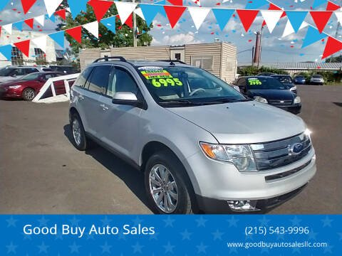 2010 Ford Edge for sale at Good Buy Auto Sales in Philadelphia PA