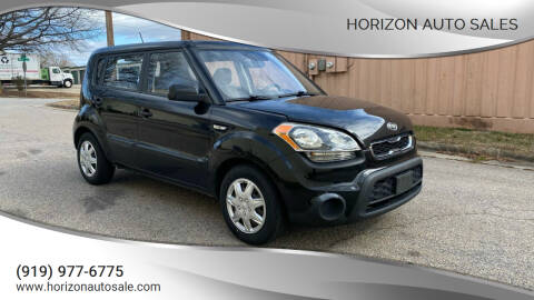 2012 Kia Soul for sale at Horizon Auto Sales in Raleigh NC