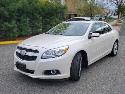 2013 Chevrolet Malibu for sale at Giordano Auto Sales in Hasbrouck Heights NJ