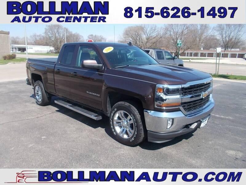 2016 Chevrolet Silverado 1500 for sale at Bollman Auto Center in Rock Falls IL