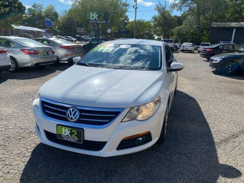 2010 Volkswagen CC for sale at BK2 Auto Sales in Beloit WI