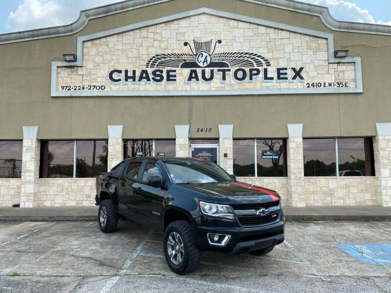 2019 Chevrolet Colorado for sale at CHASE AUTOPLEX in Lancaster TX