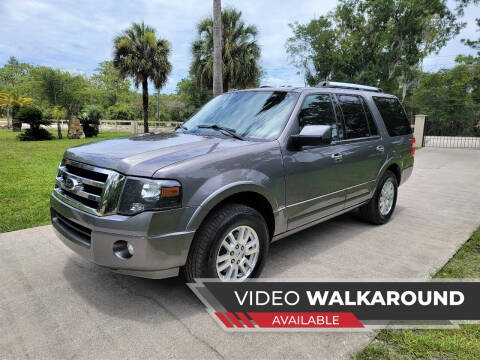 2014 Ford Expedition for sale at Lake Helen Auto in Lake Helen FL