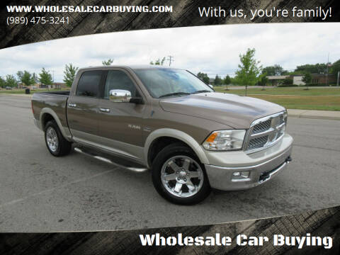 2010 Dodge Ram Pickup 1500 for sale at Wholesale Car Buying in Saginaw MI