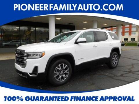 2021 GMC Acadia for sale at Pioneer Family Preowned Autos in Williamstown WV
