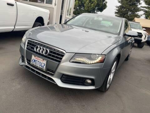 2010 Audi A4 for sale at Ronnie Motors LLC in San Jose CA