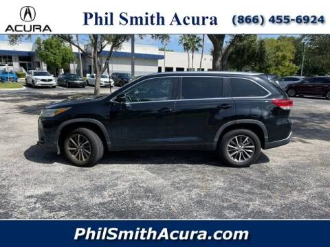 2018 Toyota Highlander for sale at PHIL SMITH AUTOMOTIVE GROUP - Phil Smith Acura in Pompano Beach FL