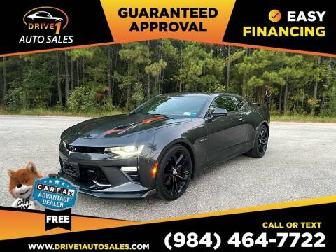 2017 Chevrolet Camaro for sale at Drive 1 Auto Sales in Wake Forest NC