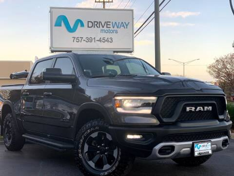 2019 RAM Ram Pickup 1500 for sale at Driveway Motors in Virginia Beach VA