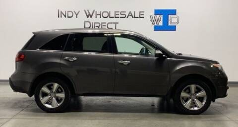 2012 Acura MDX for sale at Indy Wholesale Direct in Carmel IN