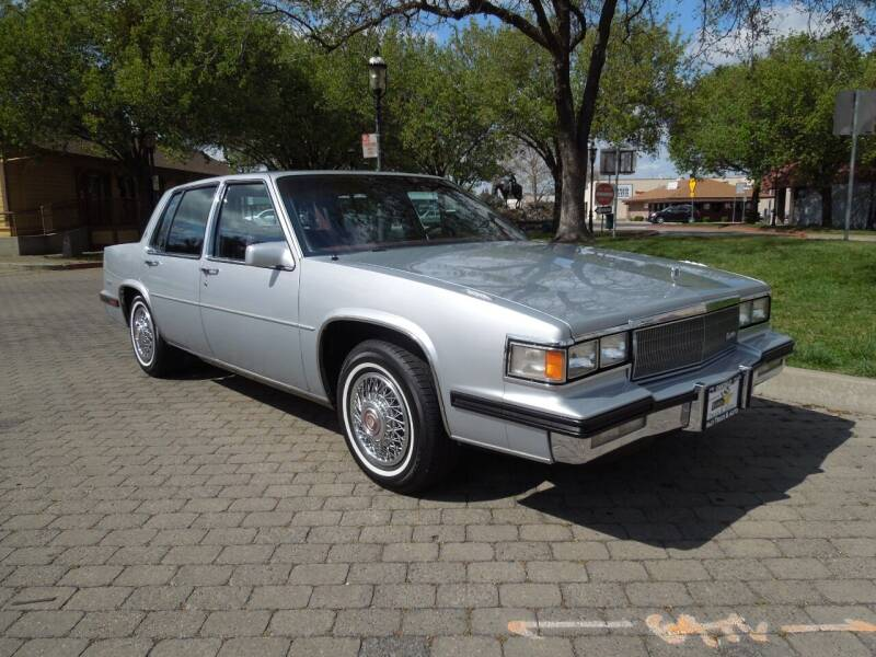 1985 Cadillac DeVille for sale at Family Truck and Auto.com in Oakdale CA