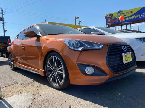 2016 Hyundai Veloster for sale at New Wave Auto Brokers & Sales in Denver CO