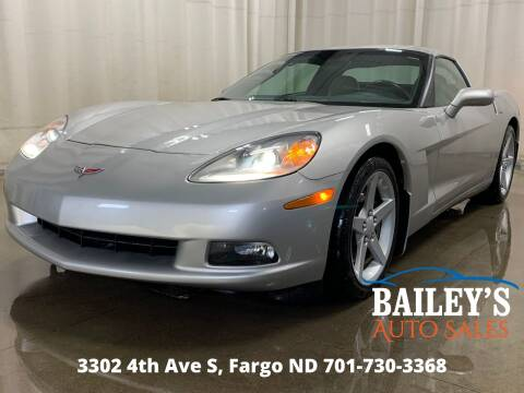 2007 Chevrolet Corvette for sale at Bailey's Auto Sales in Fargo ND