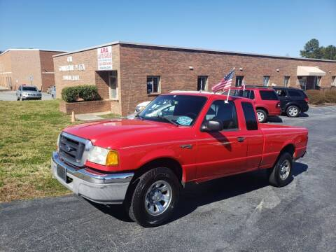 2004 Ford Ranger for sale at ARA Auto Sales in Winston-Salem NC