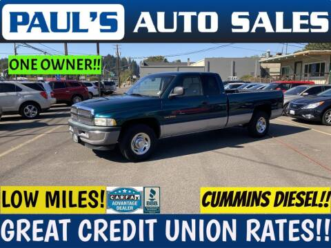 1999 Dodge Ram Pickup 2500 for sale at Paul's Auto Sales in Eugene OR