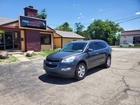 2010 Chevrolet Traverse for sale at Pro Motors in Fairfield OH