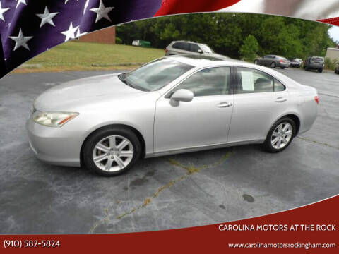 2008 Lexus ES 350 for sale at Carolina Motors at the Rock in Rockingham NC