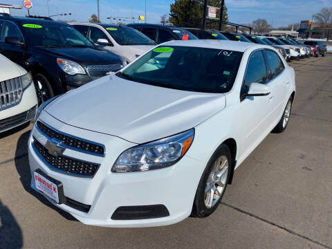 2013 Chevrolet Malibu for sale at De Anda Auto Sales in South Sioux City NE
