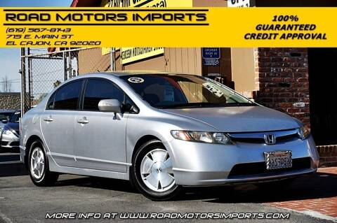 2007 Honda Civic for sale at Road Motors Imports in El Cajon CA