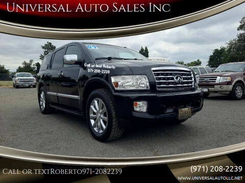 2009 Infiniti QX56 for sale at Universal Auto Sales Inc in Salem OR