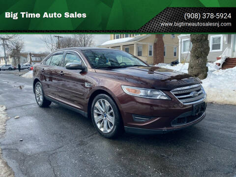 2010 Ford Taurus for sale at Big Time Auto Sales in Vauxhall NJ