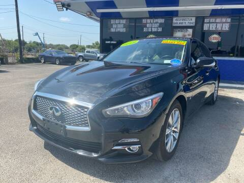 2015 Infiniti Q50 for sale at Cow Boys Auto Sales LLC in Garland TX
