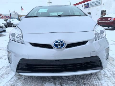 2014 Toyota Prius for sale at Minuteman Auto Sales in Saint Paul MN